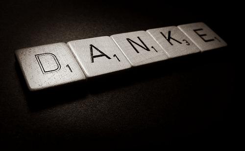 beginnen met dankbaarheid