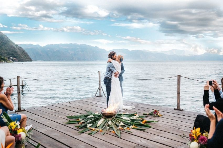 wedding photos lake atitlan