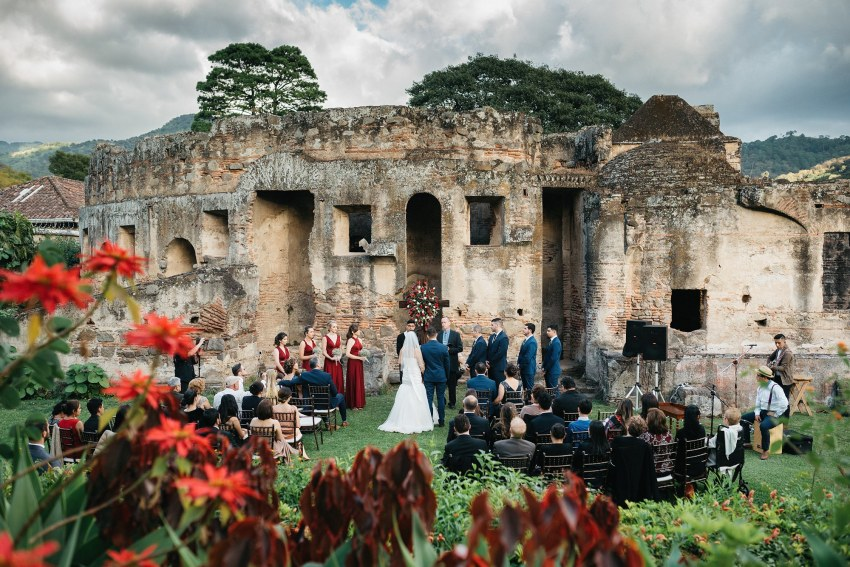 Wedding Capuchinas Convent Antigua Guatemala