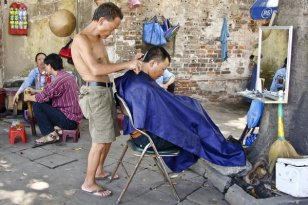 Image result for dirty barber china