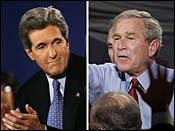 Bush Kerry 2004 Elections