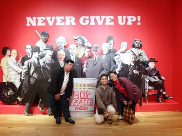 Berfoto di Cup Noodle Museum