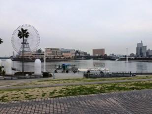 Suasana Yokohama Port