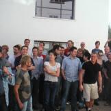 Valiant crew at Ealing Studios