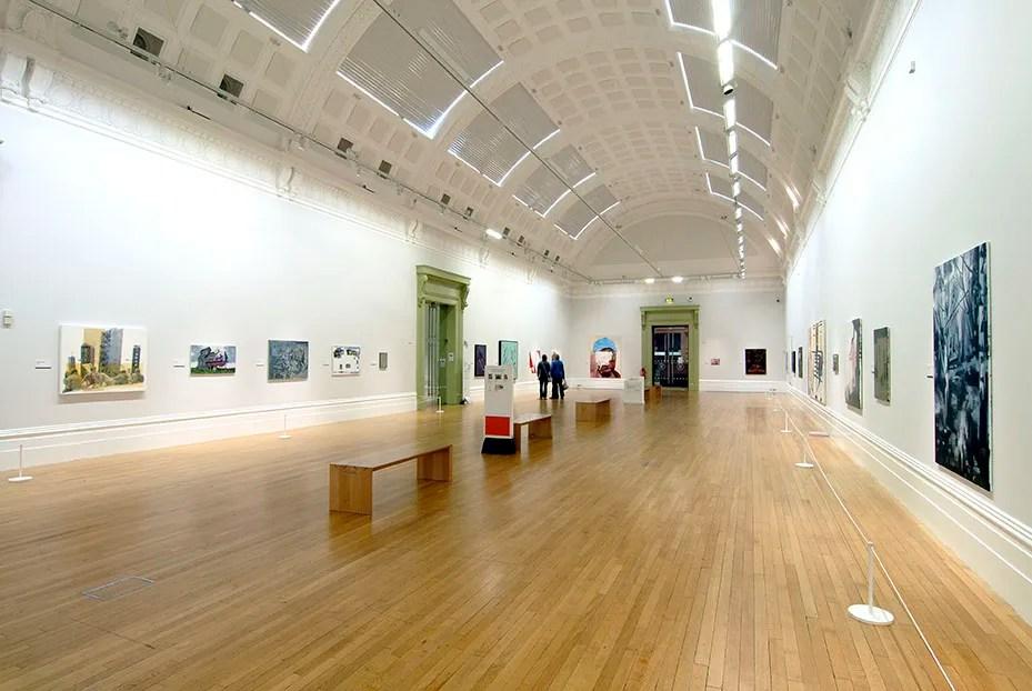 Installation view John Moores Painting Prize, Walker Art Gallery, Liverpool, 2014 – Daniel Pettitt
