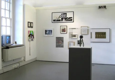 Use & Mention installation view, Stephen Lawrence Gallery, University of Greenwich, 2010 – Daniel Pettitt