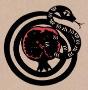 Pomegranate / Snake study