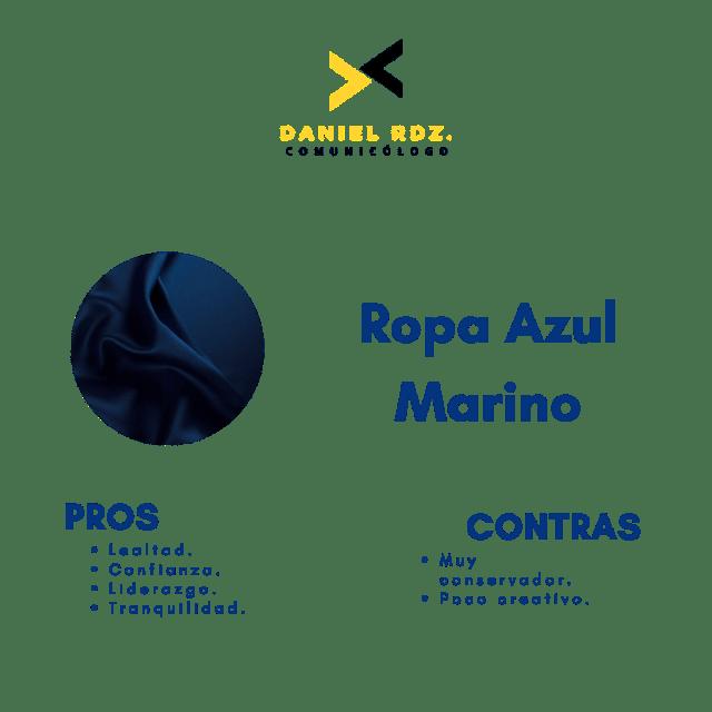 Pro y Contras Azul Marino