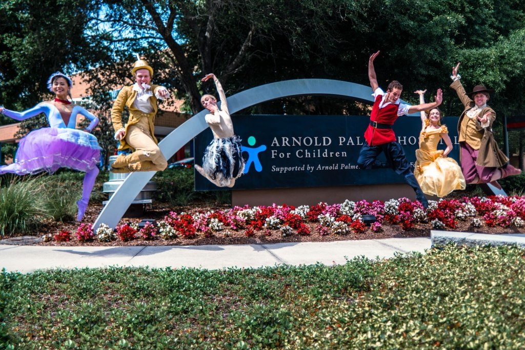 Orlando Ballet Visit Arnold Palmer Hospital for Children