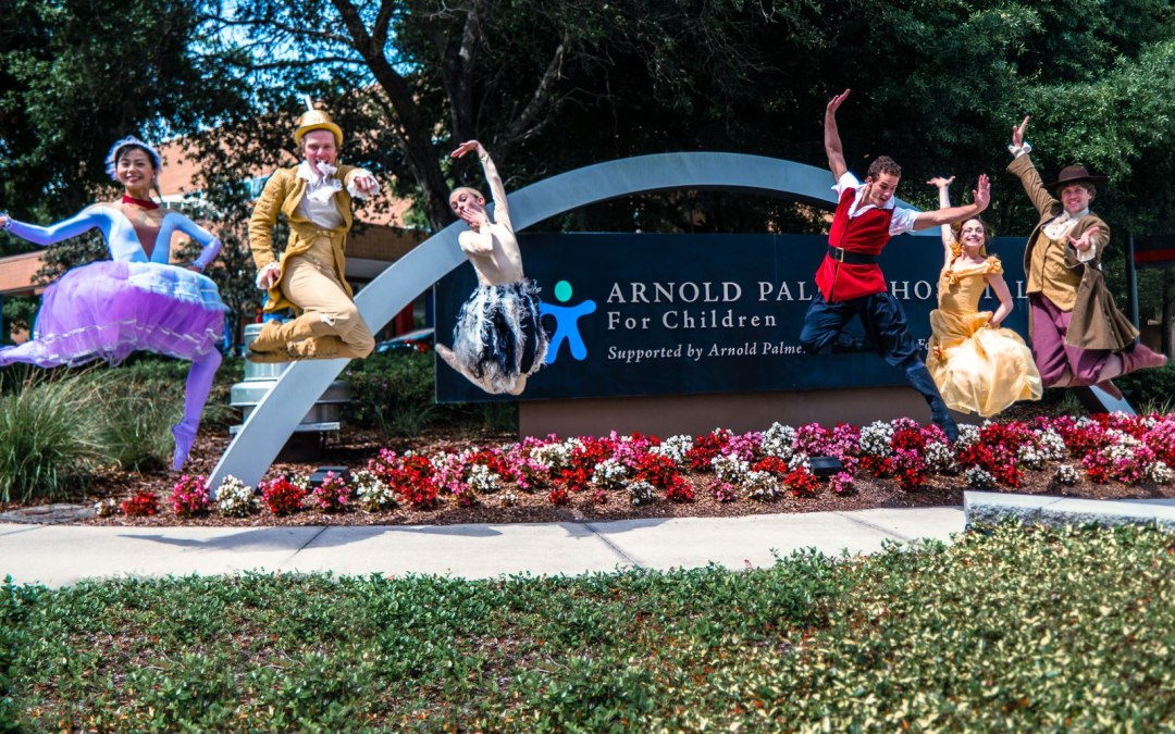Freelance Photography Project: Orlando Ballet Visit Arnold Palmer Hospital for Children