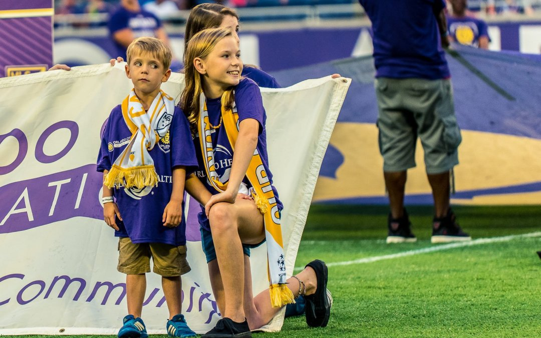 "Freelance Photography Project: Orlando City Soccer and MLS ""Soccer Kicks Cancer"" Pre-Game Event"