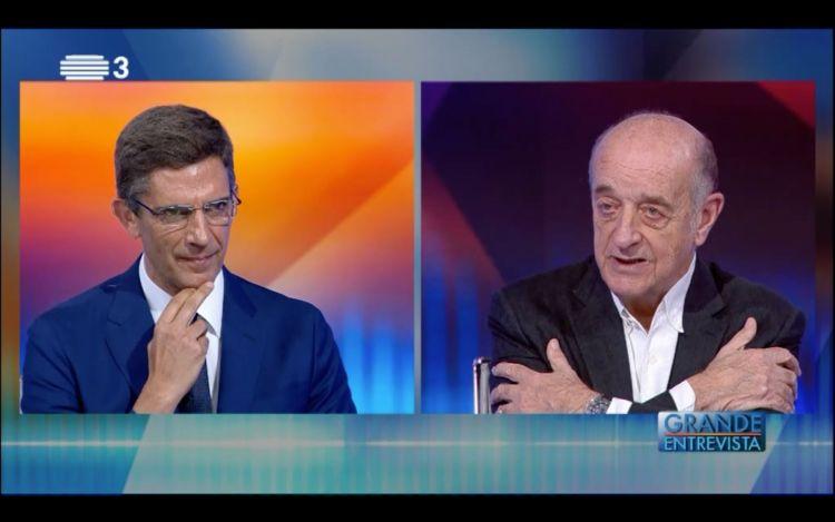 Daniel Sampaio na Grande Entrevista da RTP