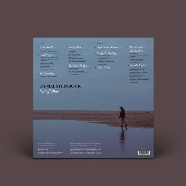 Daniel Steinbock - Out of Blue vinyl LP record rear