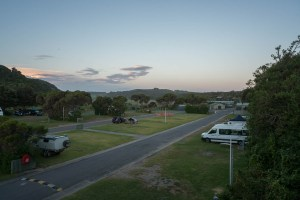 Spending Night #2 on a campground along Great Ocean Road