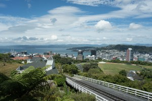 View from Botanical Garden in Wellington