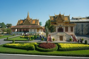 Throne Hall in Phnom Penh