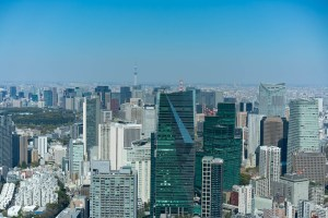 View from Roppongi Hills over Tokyo