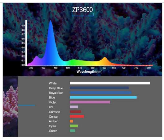 Zetlight-Color-Spectrum