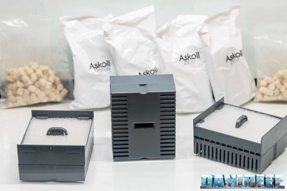 201803 acquario marino, askoll, materiali filtranti, Pure Marine XL HC Led 10 Copyright by DaniReef
