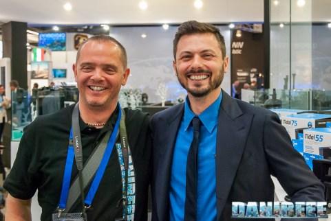 DaniReef con Andrea Ongaro di Seachem