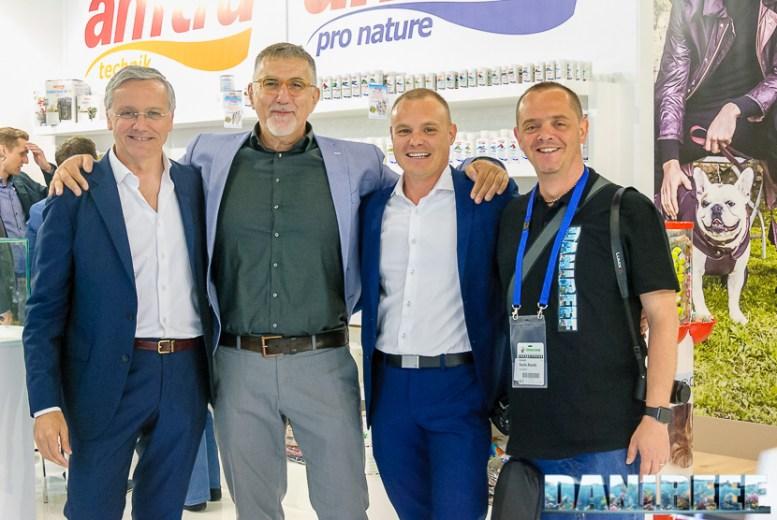 Dario Croci, Ulrich Glaser, Davide Robustelli e DaniReef