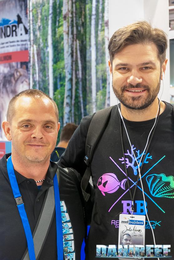 DaniReef con Jake Adams di ReefBuilders