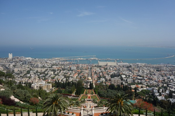 Haifa panorama view