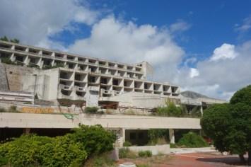 Alle balkoner fra Hotel Goricina har havudsigt