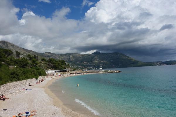 Smukke Kupari strand