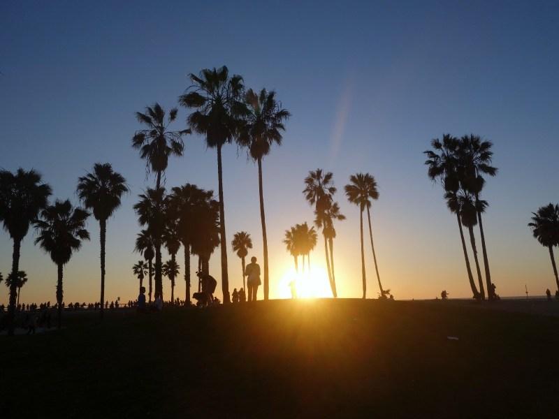 Venice Beach og Santa Monica