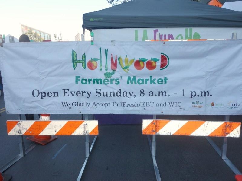 Glem stjernerne og tag på Hollywood Farmers Market