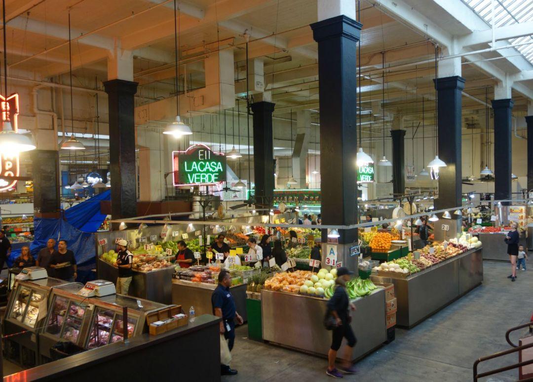 Grand Central Market i Los Angeles