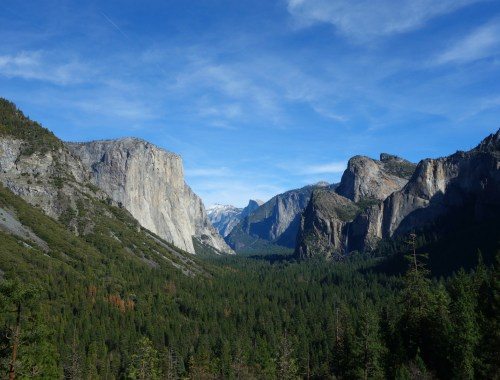 Yosemite National Park - The Tunnel View