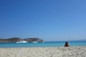 Smukke Simos Beach