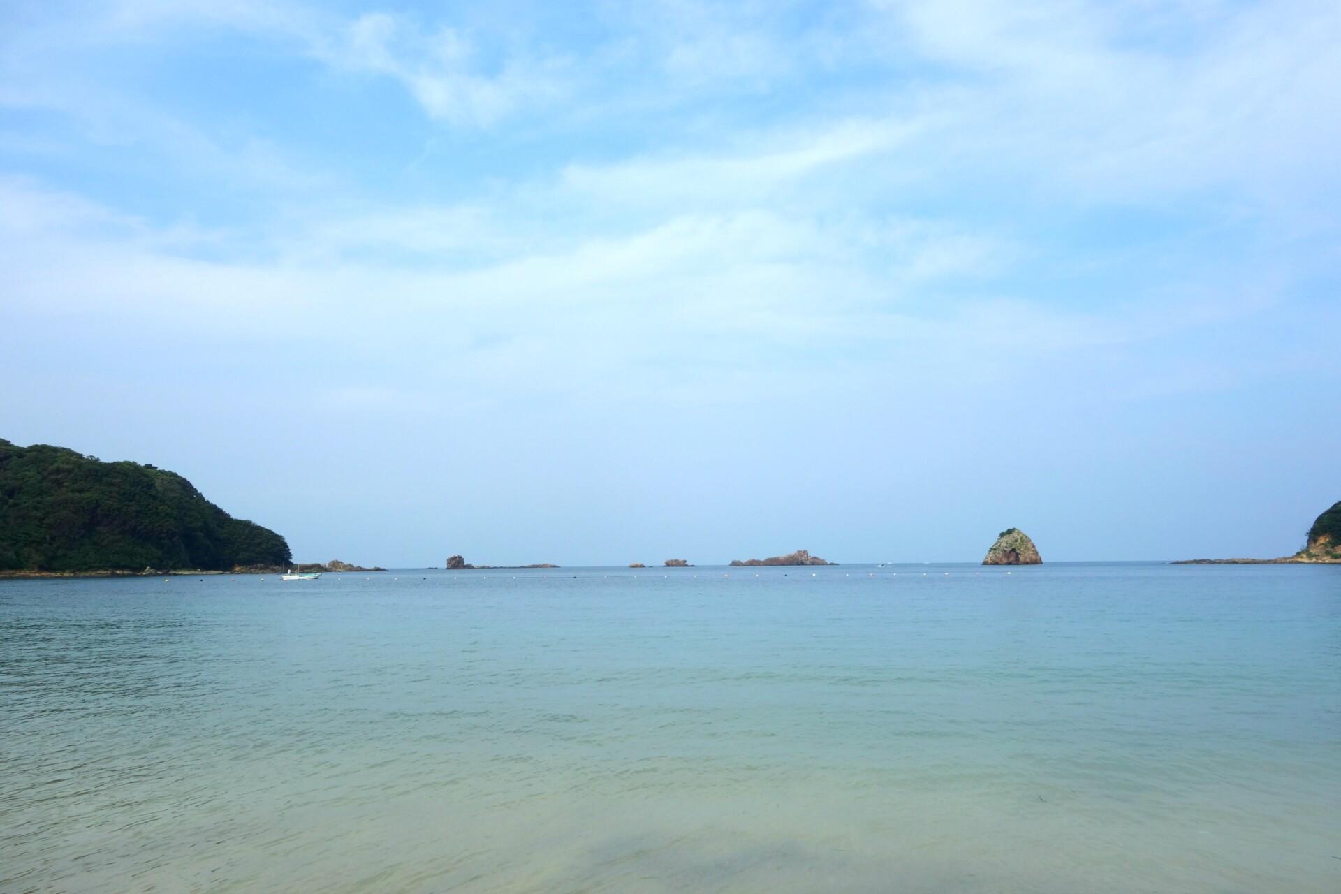 Smukke strande ved Shimoda