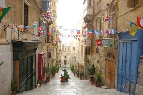St. Lucias Street i Valletta
