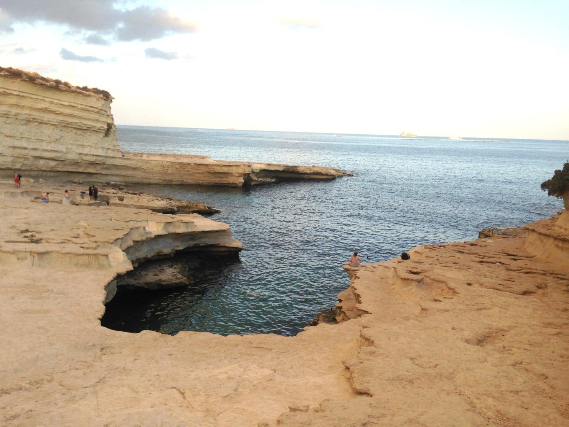 St Peters Pool på Malta