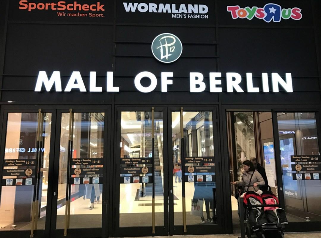 Mall of Berlin hovedindgang