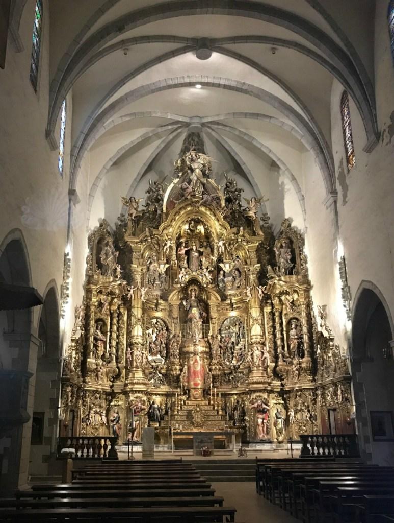 den smukke barokke altertavle