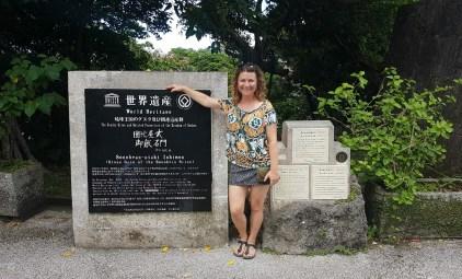 Kongeriet Ryukyu UNESCO monument