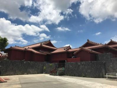 Palace fra kongeriet Ryukyu
