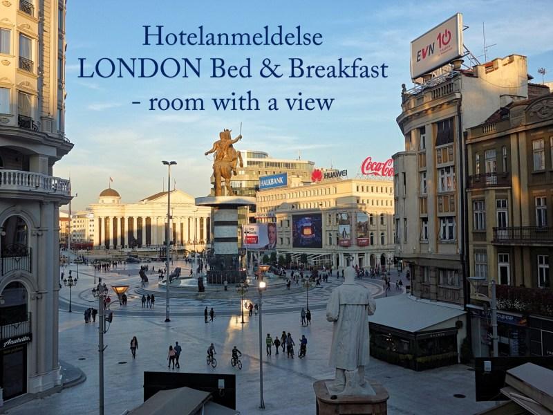Hotelanmeldelse i Skopje: London Bed & Breakfast