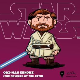 Obi-Wan Kenobi - La venganza de los Sith - Star Wars