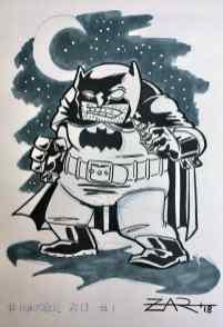 Inktober Batman
