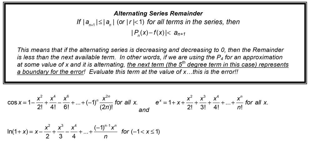 103 Taylor Series Error Danjonesmathematicsnet