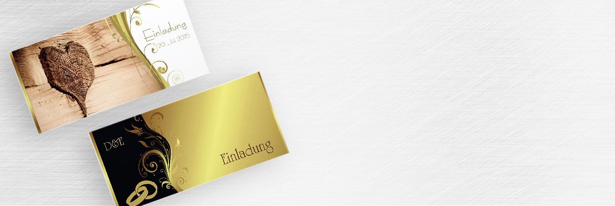 Einladungskarten Zur Goldhochzeit Online Gestalten