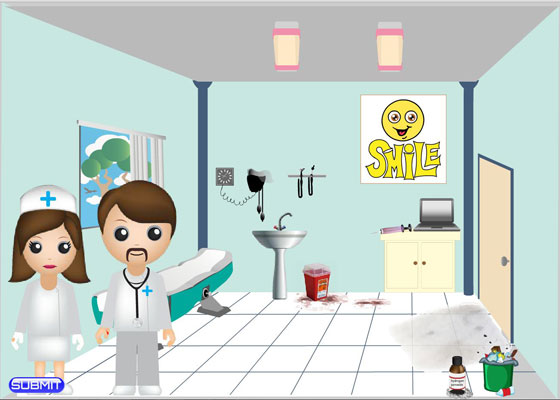 Medical OSHA Violations Flash E-learning