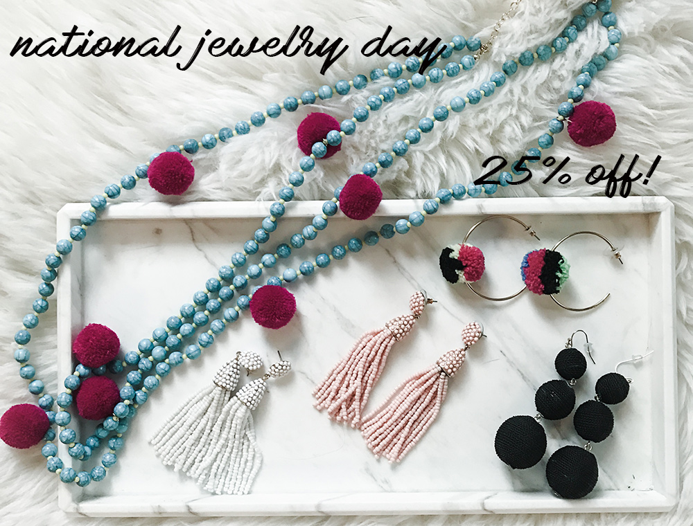 National Jewelry Day Sale