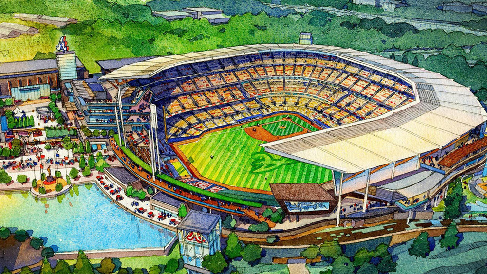 SunTrust Park – the Atlanta Braves' new home