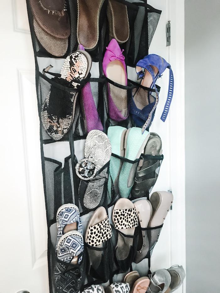 shoe and sandal organization